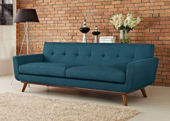 Mẫu Sofa văng chân gỗ