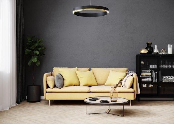 Mẫu Sofa đôi phong cách Nhật chân sắt