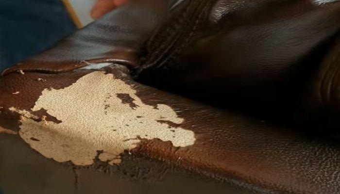 Sofa da bị bong tróc, nổ da