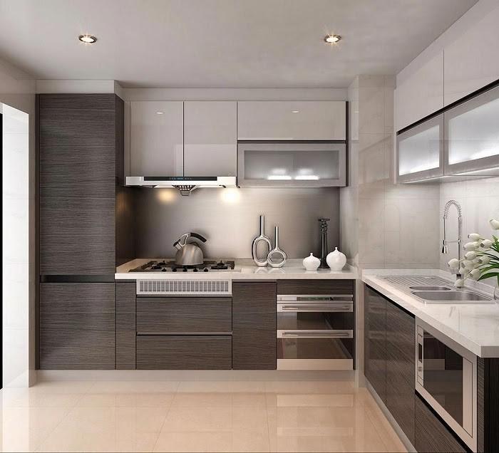 Căn bếp hiện đại, tiết kiệm không gian