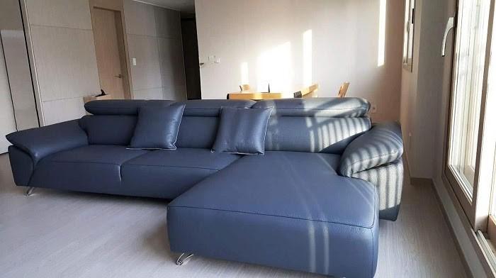 Chọn sofa xanh dương để kiến tạo không gian trẻ trung, sinh động