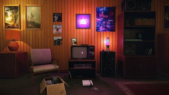 Đèn Neon bắt đầu được sử dụng trong trang trí nội thất thập kỷ này