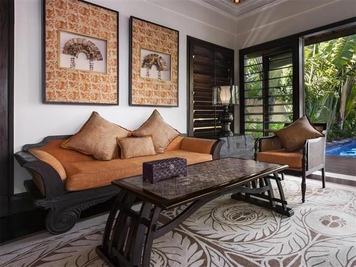 Đồ nội thất được sử dụng có thiết kế tinh tế
