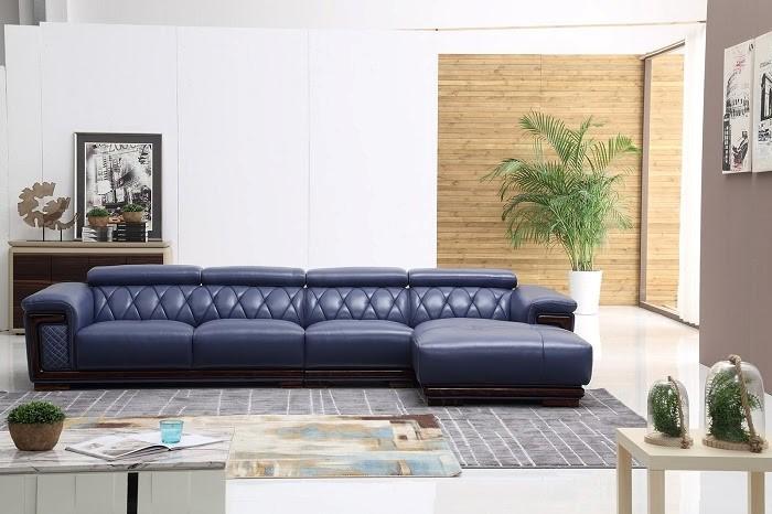 Dùng sofa xanh than tươi mát cho trang trí nội thất gia chủ mệnh Hỏa