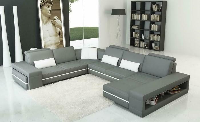 Tối ưu không gian phòng khách nhờ thiết kế trống bên tay vịn của Sofa Casa