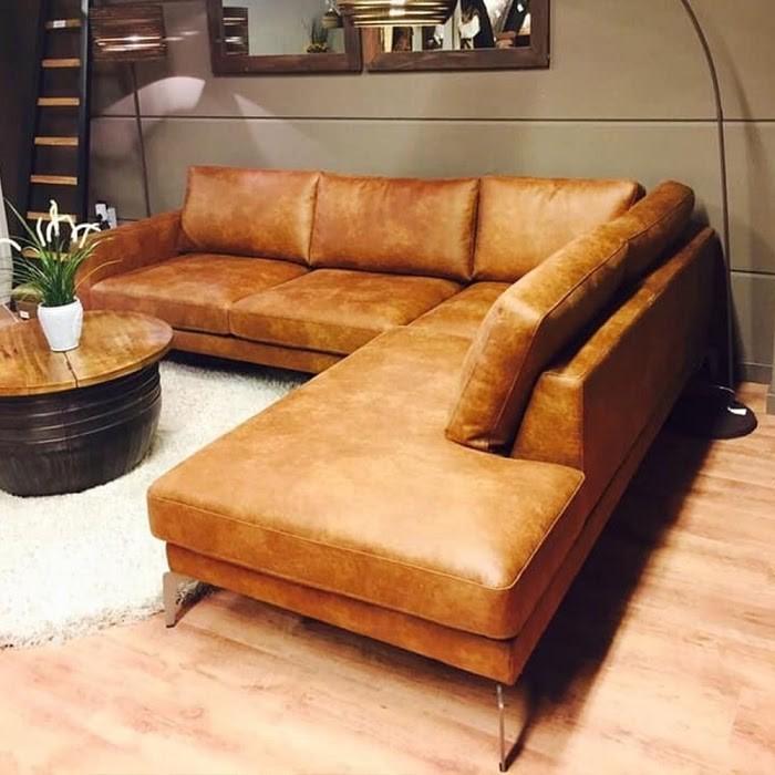 Ghế sofa nâu sang trọng cho cung mệnh Thổ