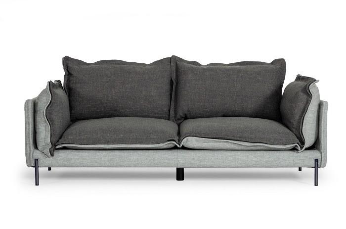 Mẫu Sofa Mini hai tông xám