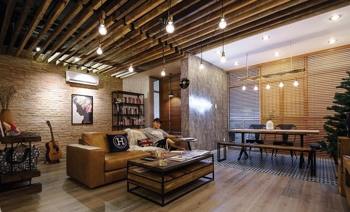 Không gian phòng khách thêm thư giãn, thoải mái cho gia đình