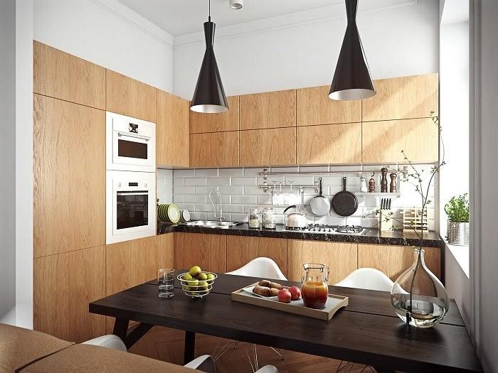Phòng bếp mang đậm chất Vintage