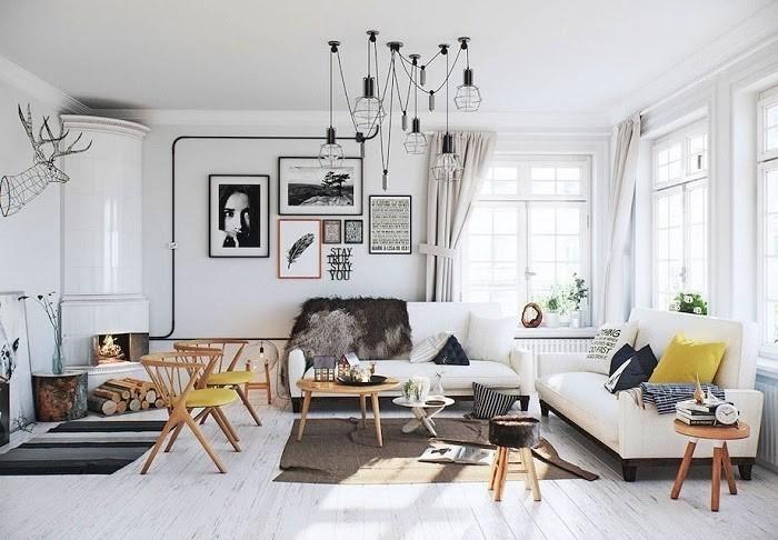 Phong cách Scandinavian là sự kết hợp của vẻ đẹp, đơn giản và tiện dụng