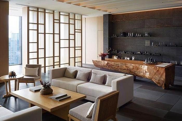 Phòng khách truyền thống theo phong cách Nhật