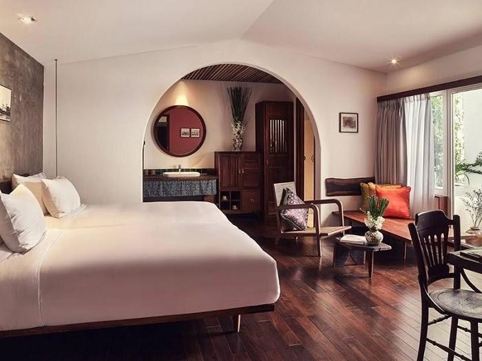 Phòng ngủ đơn giản nhưng ấn tượng