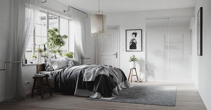 Phòng ngủ được trang trí vô cùng sang trọng