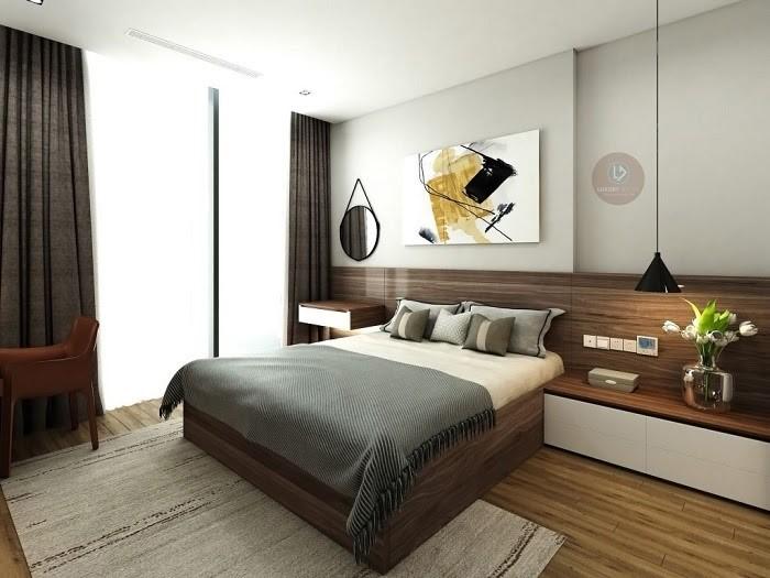 Phòng ngủ theo phong cách Nhật với cửa sổ to, đón ánh nắng
