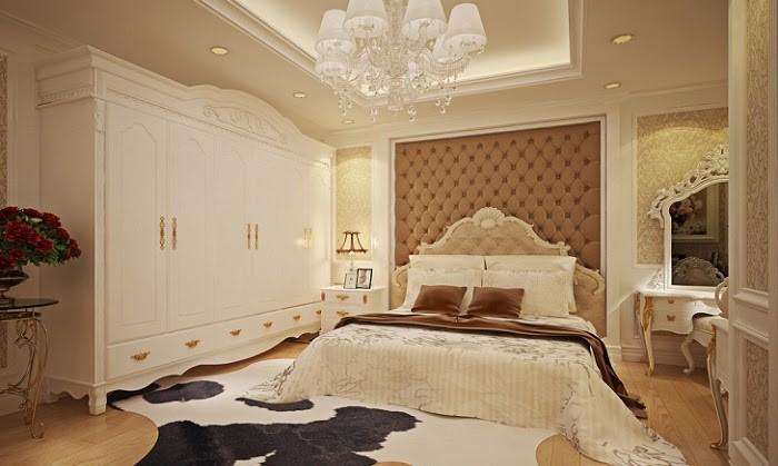 Phòng ngủ với thiết kế cổ điển, lựa chọn tốt nhất cho bạn