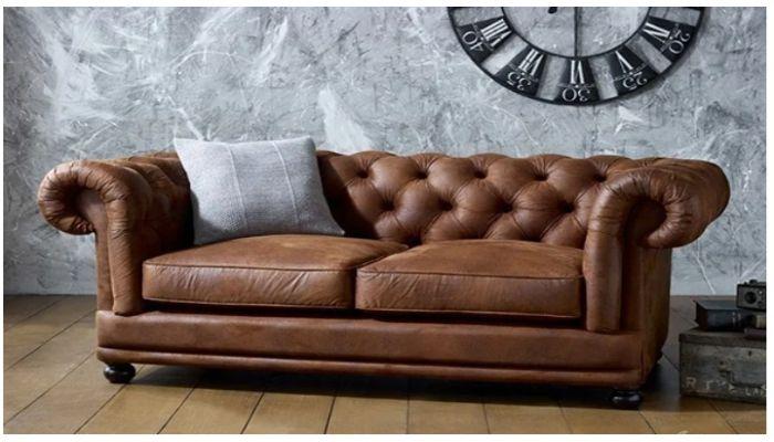 Sofa da bị phai màu