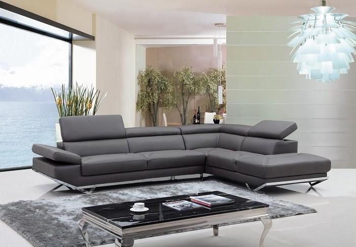 Mẫu Sofa da Ý vô cùng bóng bẩy