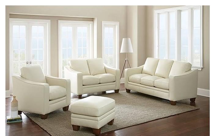 Sofa màu trắng rất phù hợp cho gia chủ mệnh Kim