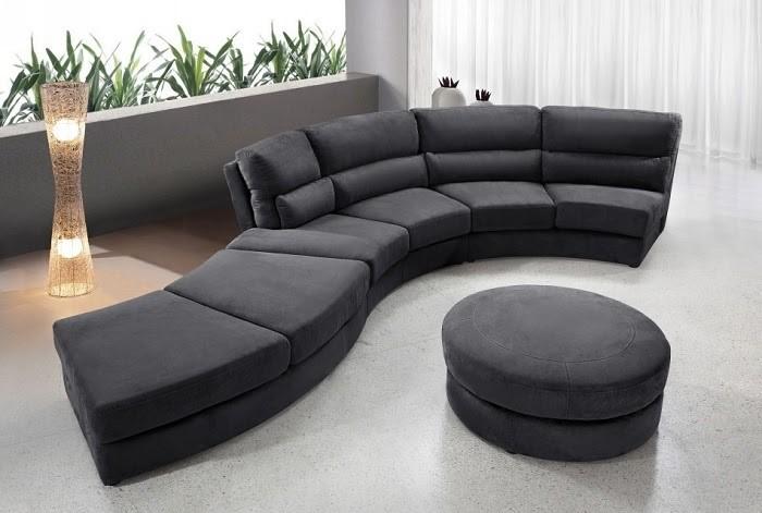 Mẫu Sofa cong độc đáo