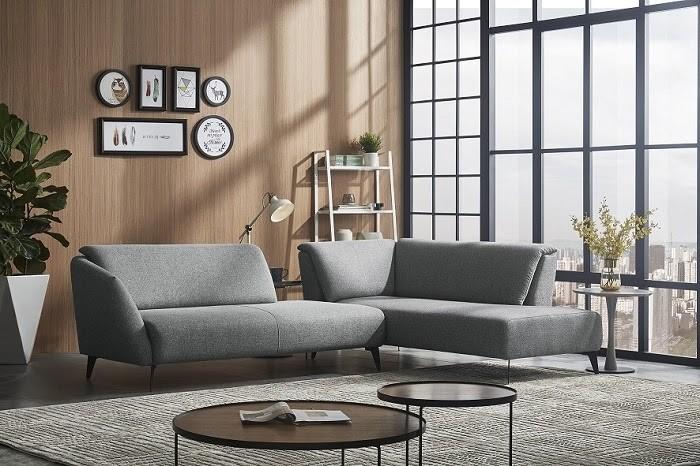 Ghế Sofa màu xám kem đang là xu hướng trong những năm trở lại đây