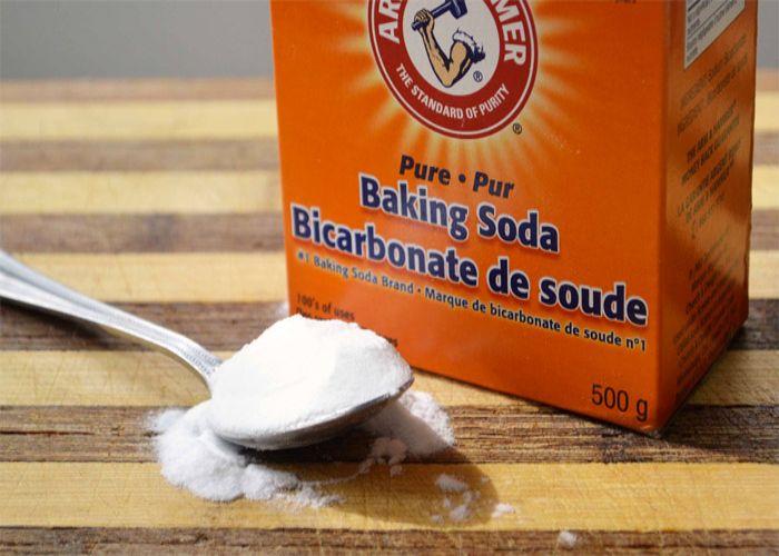 Baking Soda có thể dễ dàng tìm thấy tại các cửa hàng