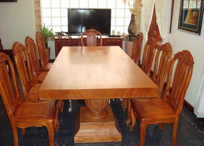Bàn ghế gỗ Chò Chỉ