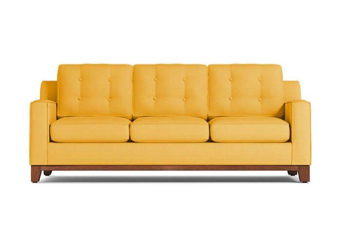 Mẫu Sofa ba phong cách Eco màu vàng