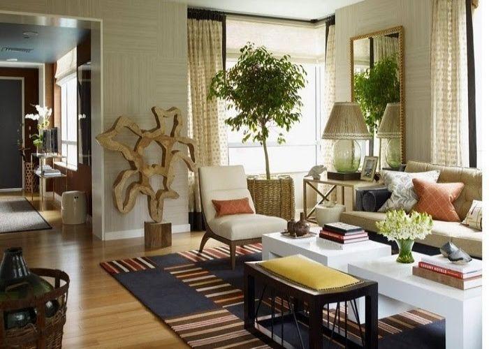 Phong cách nội thất Eco chú trọng sự gần gủi với thiên nhiên