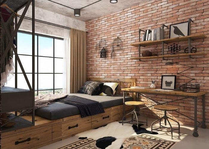 Phong cách nội thất Industrial và sự đơn giản, mộc mạc