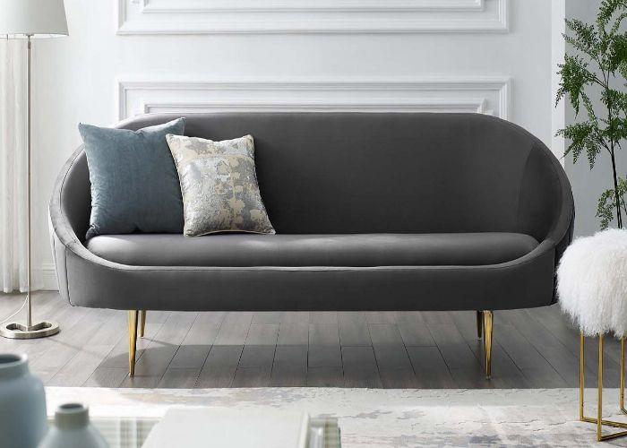Sofa phong cách Organic băng dài