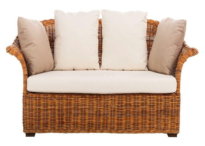 Sofa phong cách Organic đế mây