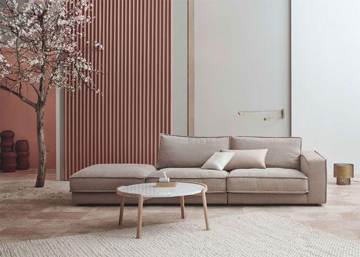 Sofa phong cách Organic đơn giản