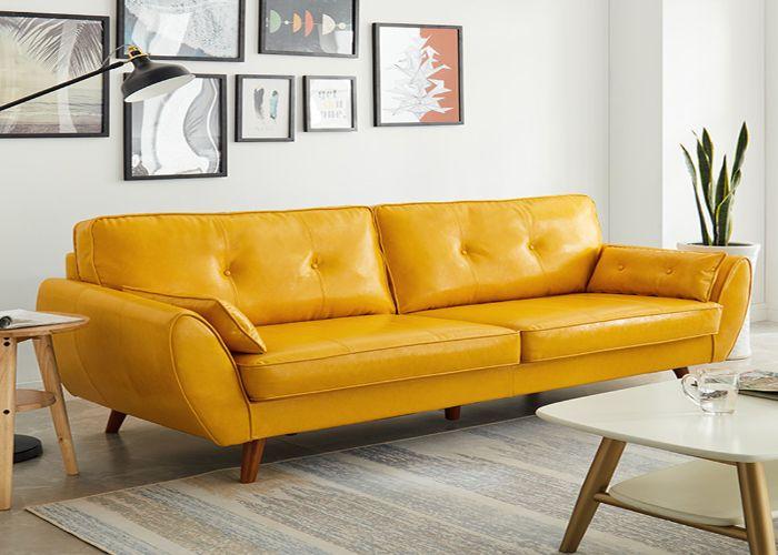 Sofa phong cách Organic màu vàng