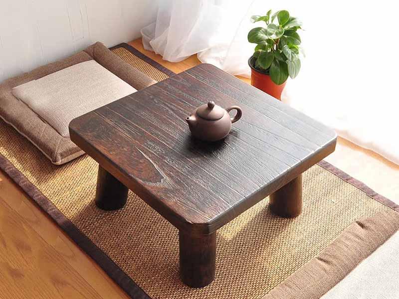 10 mẫu bàn trà Nhật