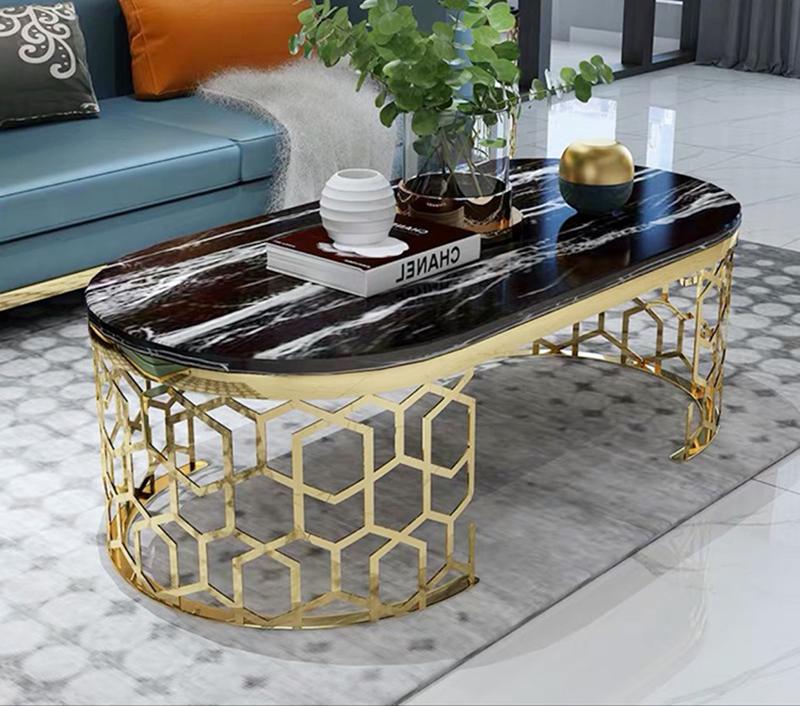 8 mẫu bàn trà hình chữ nhật