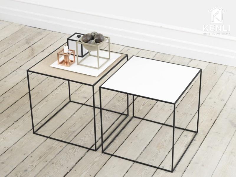 8 mẫu bàn trà hình vuông