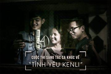 """Cuộc thi sáng tác ca khúc về """"Tình yêu Kenli"""""""