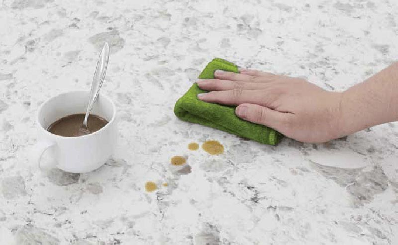 Cách vệ sinh bàn trà