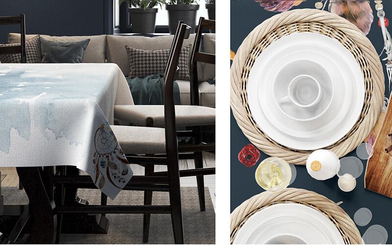 Cách chọn khăn trải bàn ăn
