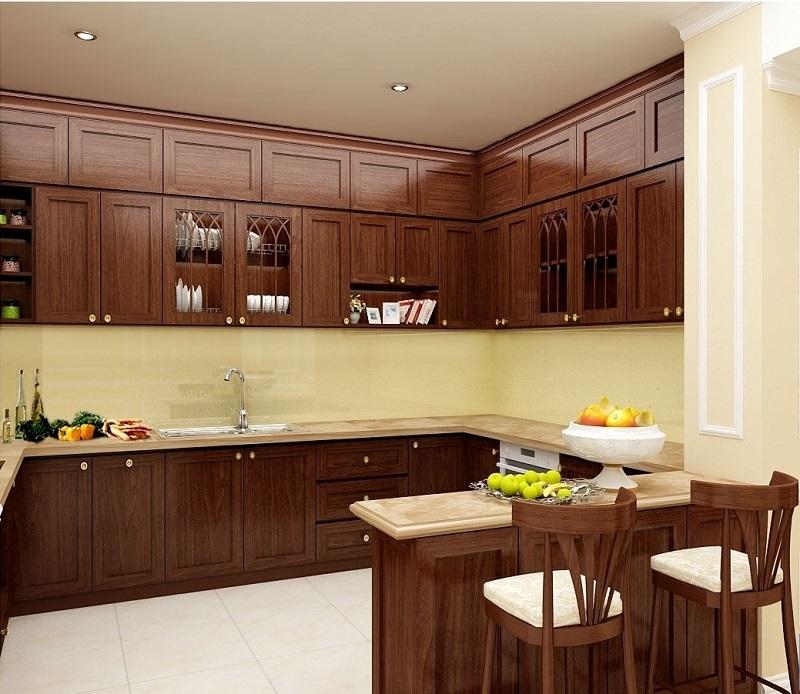 Nhà bếp- Khu vực tạo hơi ấm cho gia đình luôn hạnh phúc