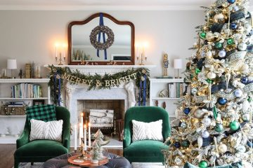 Các Cách Trang Trí Phòng Khách Mùa Giáng Sinh Rực Rỡ Đúng Chuẩn Châu Âu