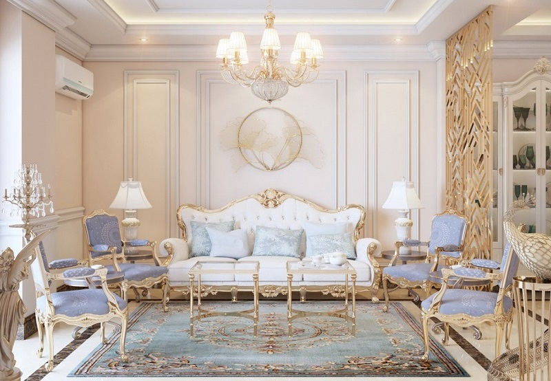 Cách chọn thảm sofa cho phòng khách