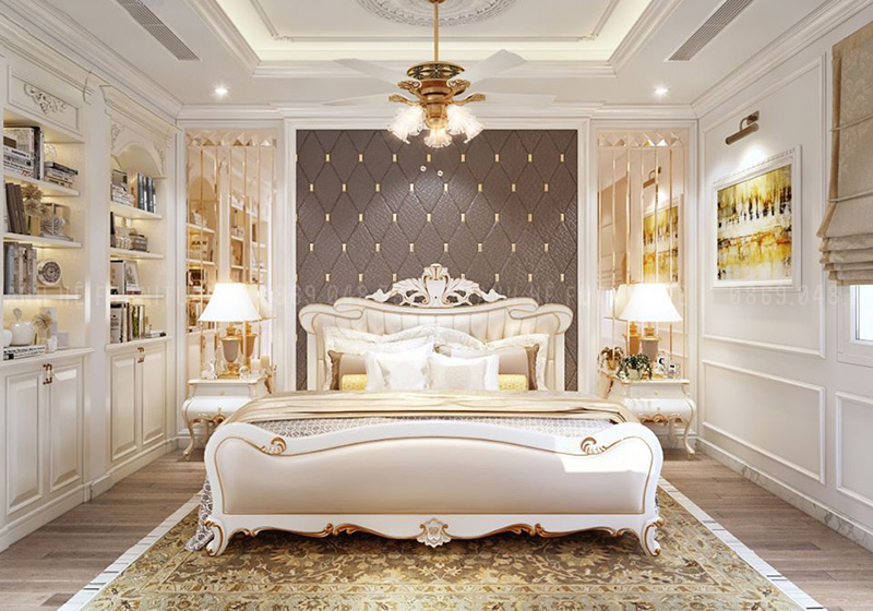 8 mẫu giường tân cổ điển