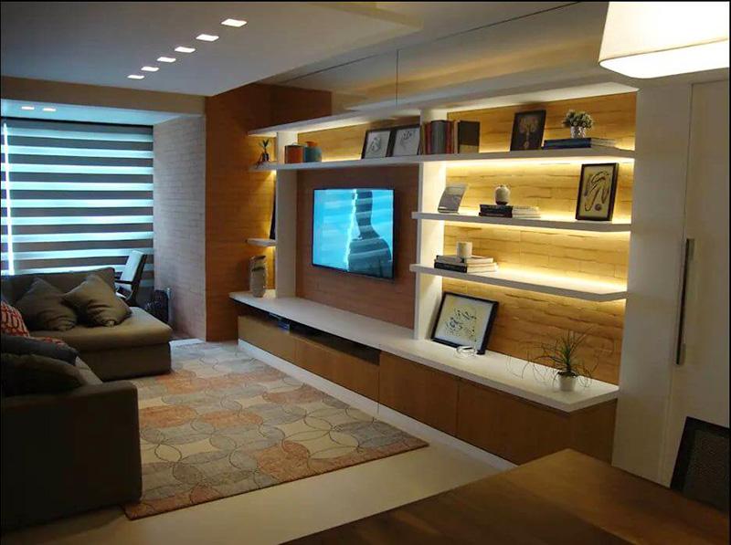 8 mẫu kệ tivi gỗ cao cấp sang trọng