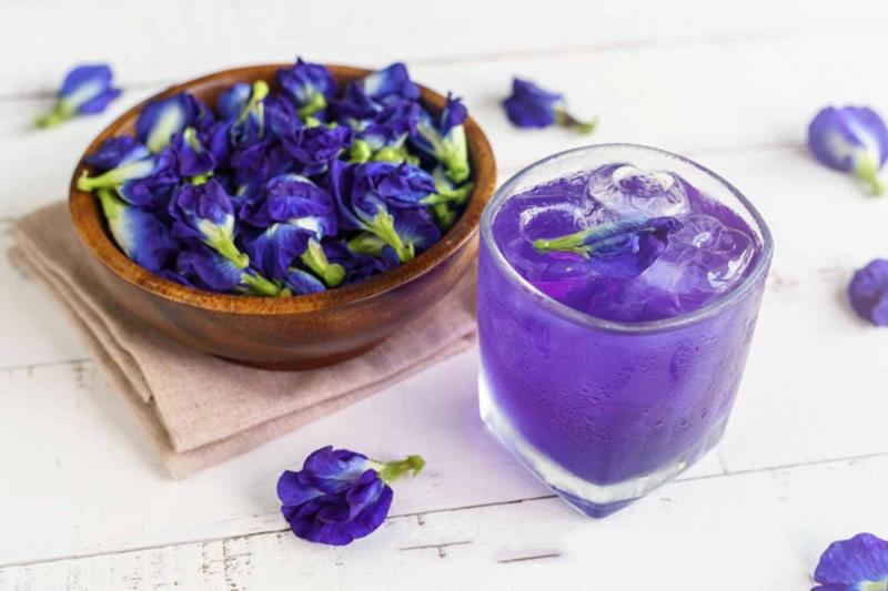 Cách pha trà hoa đậu biếc