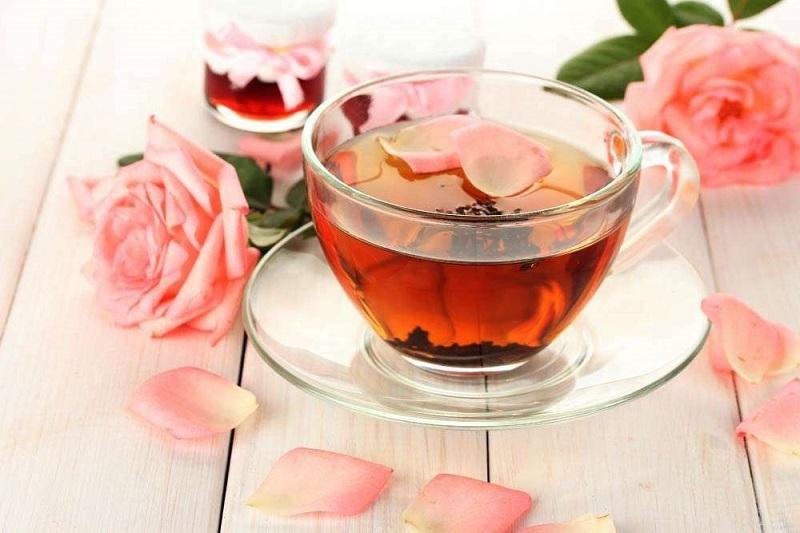 Cách pha trà hoa hồng