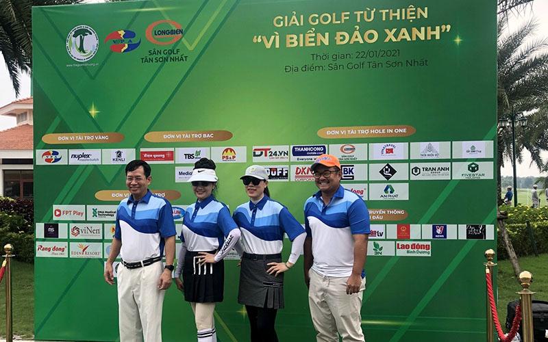 """Nhà tài trợ vàng - Chương trình giải Golf từ thiện """"Vì Biển Đảo Xanh"""""""