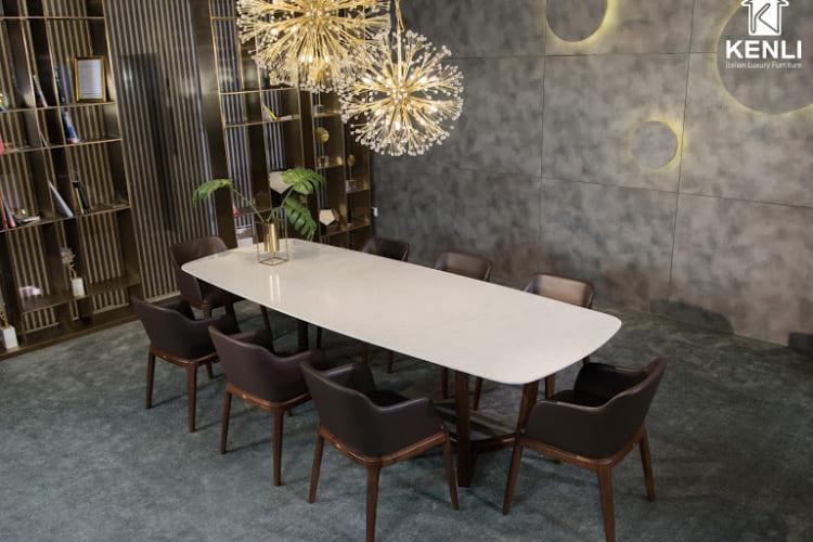 Bộ bàn ghế ăn 10 ghế