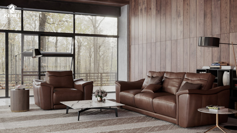 sofa agay - bộ sofa phòng khách cao cấp
