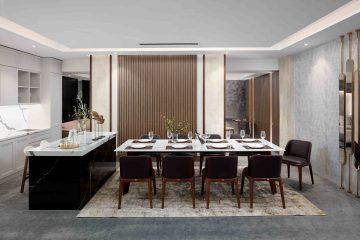 Tổng hợp những mẫu bàn ăn đẹp 10 ghế hiện đại và sang trọng